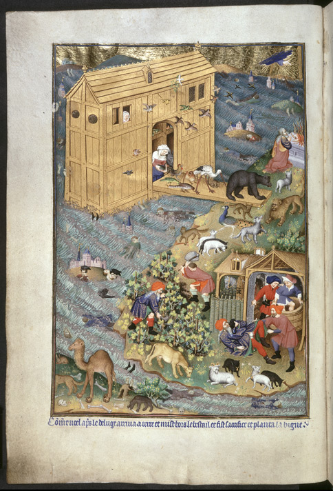 Bedford Hours, Exit from the Ark